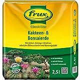Frux ClassicLine für Kakteen und Bonsai, hochwertige Spezialerde für alle Kakteenarten und Bonsai Pflanzen 2,5L Erde Kakteenerde & Bonsaierde Bonsaisubstrat