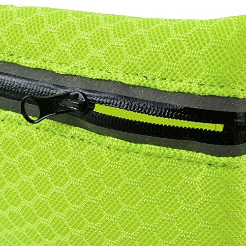 Wenyujh Damen Herren Unisex Gürteltasche Bauchtasche Hüfttasche Verstellbar Multifunktionen für Sport Reisen Outdoors Gelb
