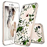 MOSNOVO Coque iPhone 7, Coque iPhone 8, Magnolia Floral Flower Blossom Fleur Clair...