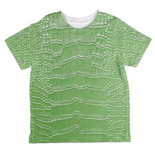 Unbekannt Kostüm Halloween Alligator Ganzen Kleinkind T Shirt Multi 6 ()