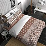 Boutique Living India-210TC King Size Cotton Printed with 2 Pillow Covers Bedsheet Set-(274cm x 274cm) Billori
