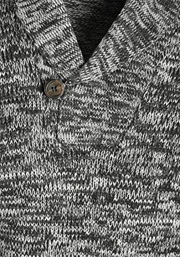 BLEND Takuto - Pull en Maille- Homme Black (70155)