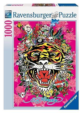 Ravensburger - 15188 - Puzzle - Tattoo Art / Ed Hardy - 1000 Pièces