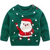 Bebé Niños Suéter Sudadera de Navidad Jersey de Invierno Camiseta Manga Larga 1-6 Años