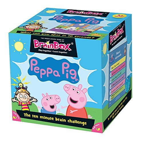 Green Board Games 91021 BrainBox Peppa Pig