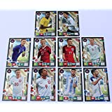 Panini Adrenalyn XL Road to World Cup 2018 - Set 10 Karten Limited Edition