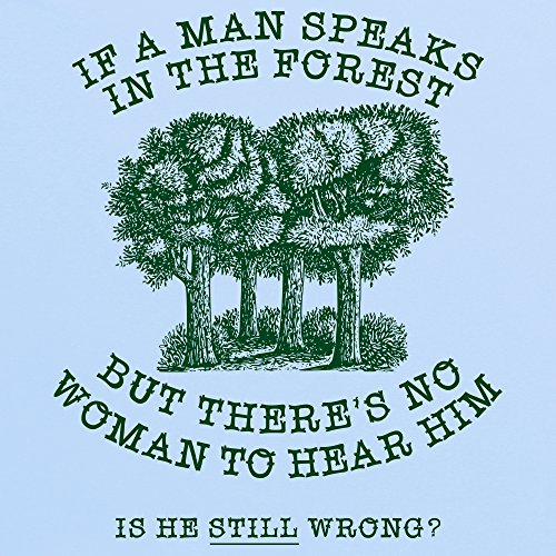 In The Forest T-Shirt, Herren Himmelblau