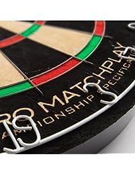 HARROWS Pro Matchplay Bristle Dart Board Dartbard by Harrows
