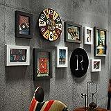 WAZY Photo frame collage Retro bar foto parete creativo portfolio foto cornice pvc decorazione della casa cornice Accessori per la casa 10 pezzi set (Colore