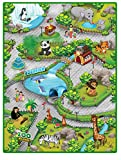 Liberty House Toys 657027 Zoo 3D Spielteppich, Multi