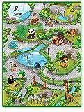 Liberty House Toys 657027Zoo 3D Spielteppich, Multi