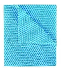 Jetables J Chiffons Paquet de 50 - Bleu, 44 x 36 cm