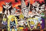 Grupo Erik ABYDCO315 Poster Dragon Ball Z  Arc Cell, carta, Multicolore,  91 x 61,5 x 0,1 cm