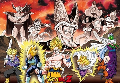 Poster con diseño Dragon Ball Z
