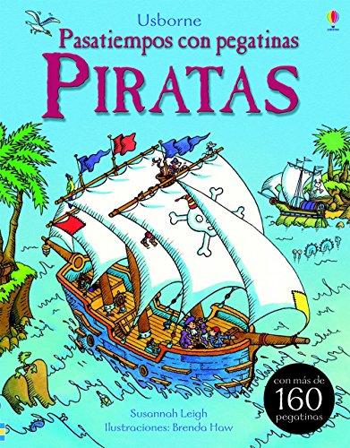 Piratas. Pasatiempos Con Pegatinas