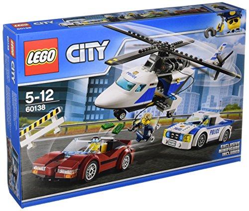 LEGO - La course poursuite en hélicoptère - Collection City
