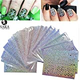 New Sara Nail Salon 24Sheets Vinyls Prin...
