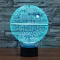 Death Star 3D USB Illusion Lamp from Starbright LED