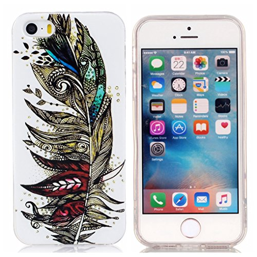 LOOKAY Coque iPhone 6S / 6 [Ultra Hybrid] Coussin d'Air [Crystal Clear] La Face Arriere Claire + Bumper en TPU Coque Apple iPhone 6S / 6 4.7 Pouces,Chaussures à talon haut 17HUA