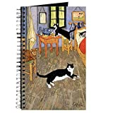 CafePress – Vincent de chat – Journal à spirales, Carnet, journal intime, DOT Grid