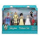 Unbekannt Jasmin Deluxe Figur Fashion Set, Offizielle Disney, einschließlich, Jasmin, Aladdin und Abu Monkey,