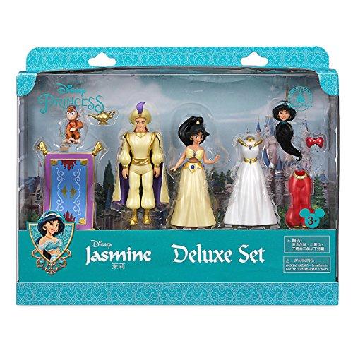 Unbekannt Jasmin Deluxe Figur Fashion Set, Offizielle Disney, einschließlich, Jasmin, Aladdin und...
