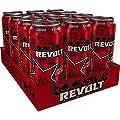 12 Dosen Rockstar Revolt Killer Cherry rot a 500ml inc. Pfand Neu