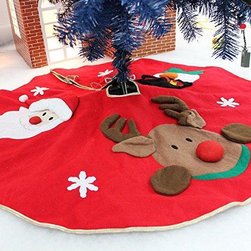 Motsuv weihnachtsbaum rock matte für weihnachten urlaub party (Camo Schmuck Kostüm)