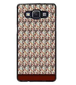 PrintDhaba Pattern D-1747 Back Case Cover for SAMSUNG GALAXY E5 (Multi-Coloured)