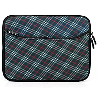 Neopren Stoßfest Tragetasche Carrying Case für Apple IPAD Tablet-PC/ HP Touchpad/ Samsung Galaxy Tab WiFi Tablet/ Acer Iconia Tab/ Asus EeePad Transformer/ Archos 10.1 Internet Tablet/ Motorola Xoom Tablet/ ViewSonic ViewPad/ Toshiba Folio Media Tablet/ Creative Ziio Tablet and other 10 Zoll Tablets (25,9 cm (10,2 Zoll)) (Midnight Blue)