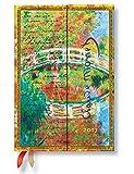 Agenda PAPERBLANKS Monet (Le pont), LettreàMorisot - Mini 100×140mm - 1 semaine sur 2 pages horizontal