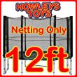 12ft Replacement Netting For Trampoline Enclosure