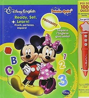 Ready, set, learn!-Pronti, partenza, impara! Penna-quiz. Ediz. bilingue. Con gadget (8852218149)   Amazon Products