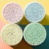 NNIUK 100% puro cotone cotton fioc Bastoncini ovattati, 400 pcs
