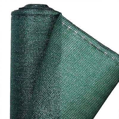 Woltu® Zaunblende Grün 1,8m Sichtschutz Tennisblende Windschutz Schattiernetz Sonnenschutz Netz Staubschutz für Garten Balkon