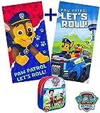 Paw Patrol Marshall Cape e maschera - Super Eroi di costumi per bambini - Costume per bambini da 3 a 10 anni - per Super Eroe feste a tema. Giocattoli per ragazzi e ragazze - King Mungo - KMSC015