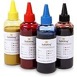 Subliking Sublimatie Inkt 4x 100ml CMYK Set voor Epson, Ricoh, Sawgrass