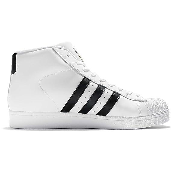adidas Pro Model, Herren Hohe Sneaker, Weiß ftwwhtcblack