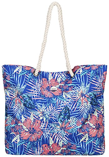 RoxyPrintedtropical - Borse a Tracolla Donna , multicolore (Multicolore (Royal Blue Beyond)), 32x14.5x40 cm (W x H x L)