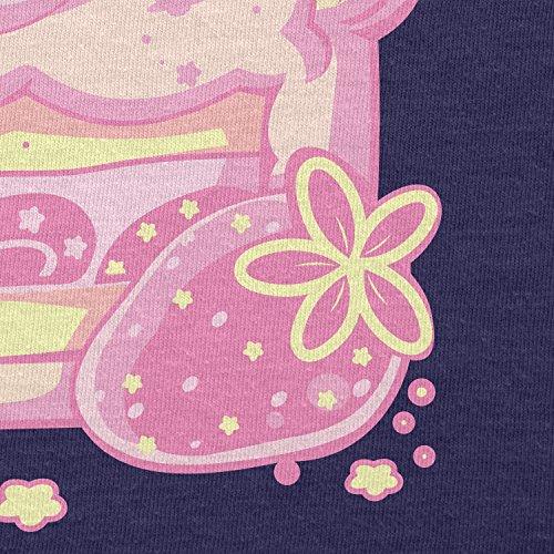 NERDO - Cake Time - Damen T-Shirt Navy
