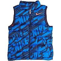 Nike Alliance Insulate - Camiseta sin mangas de running para niña, color negro, talla XS
