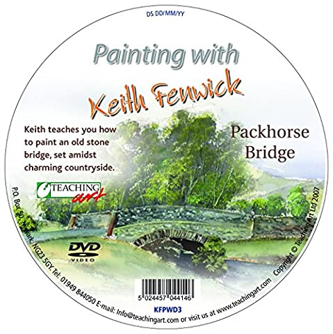 Painting with Keith Fenwick: Packhorse Bridge DVD
