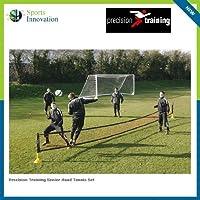 Precision Fußballtennis-Netz mit verstellbaren Pfosten, 76,2cm
