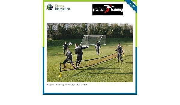 Precision Training Senior Head Tennis Set - 30ft Net with adjustable poles   Amazon.co.uk  Sports   Outdoors 5cd6ca63dc8bb