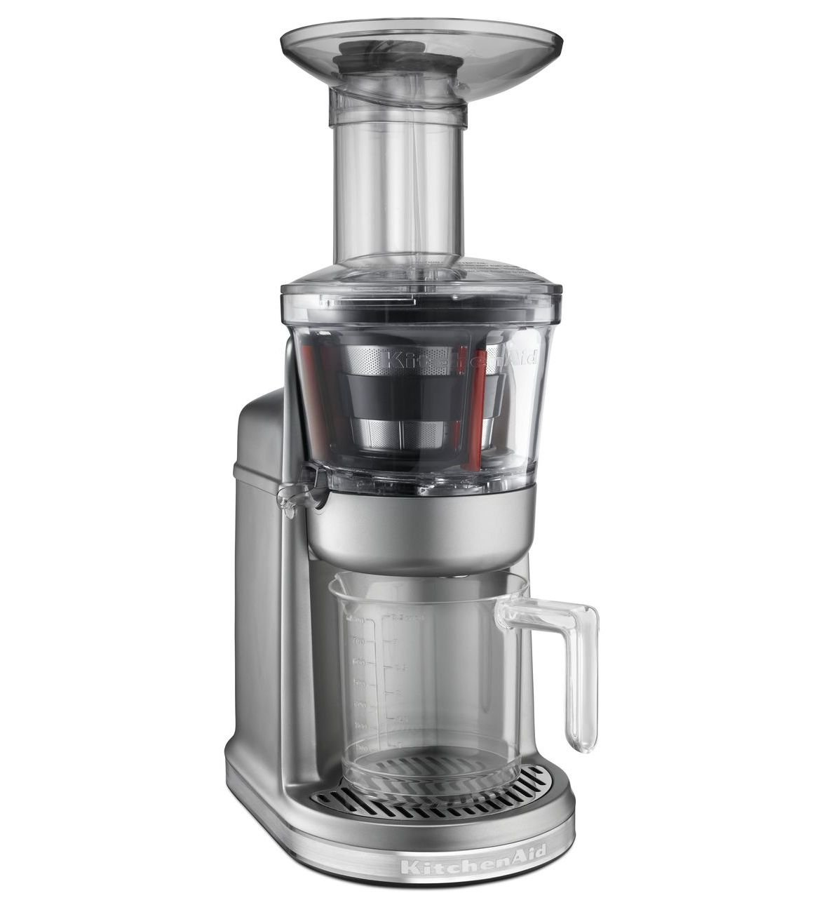 KitchenAid 5KVJ0111 Juice extractor 250W Grey - juice makers (Juice extractor, Grey, 50/60 Hz, Meta