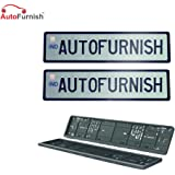 Autofurnish High Security Car Number Plate Frame Folding Compatible with Car ?