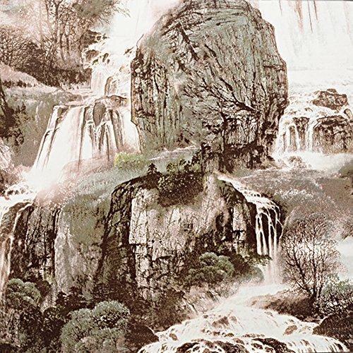 JSLCR Wind-Berg, China chinesische Landschaft Malerei Wallpaper Hintergrundbilder,10142