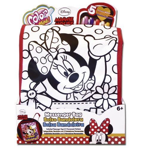 Simba 38793 - Kit hobby creativo - Color Me Mine Minnie - Tracolla Borsa
