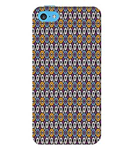 Abstract Art 3D Hard Polycarbonate Designer Back Case Cover for Apple iPod Touch 6 (6th Generation)