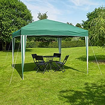 Yard, Garden & Outdoor Living black Inventive 3x3m Popup Gazebo Party Tent Marquee Home & Garden